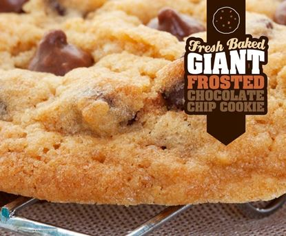 Picture of Gifts From Home - Giant Frosted Chocolate Chip Cookie